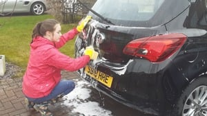 Kayleigh's Car Wash - Fundraiser for The BSF